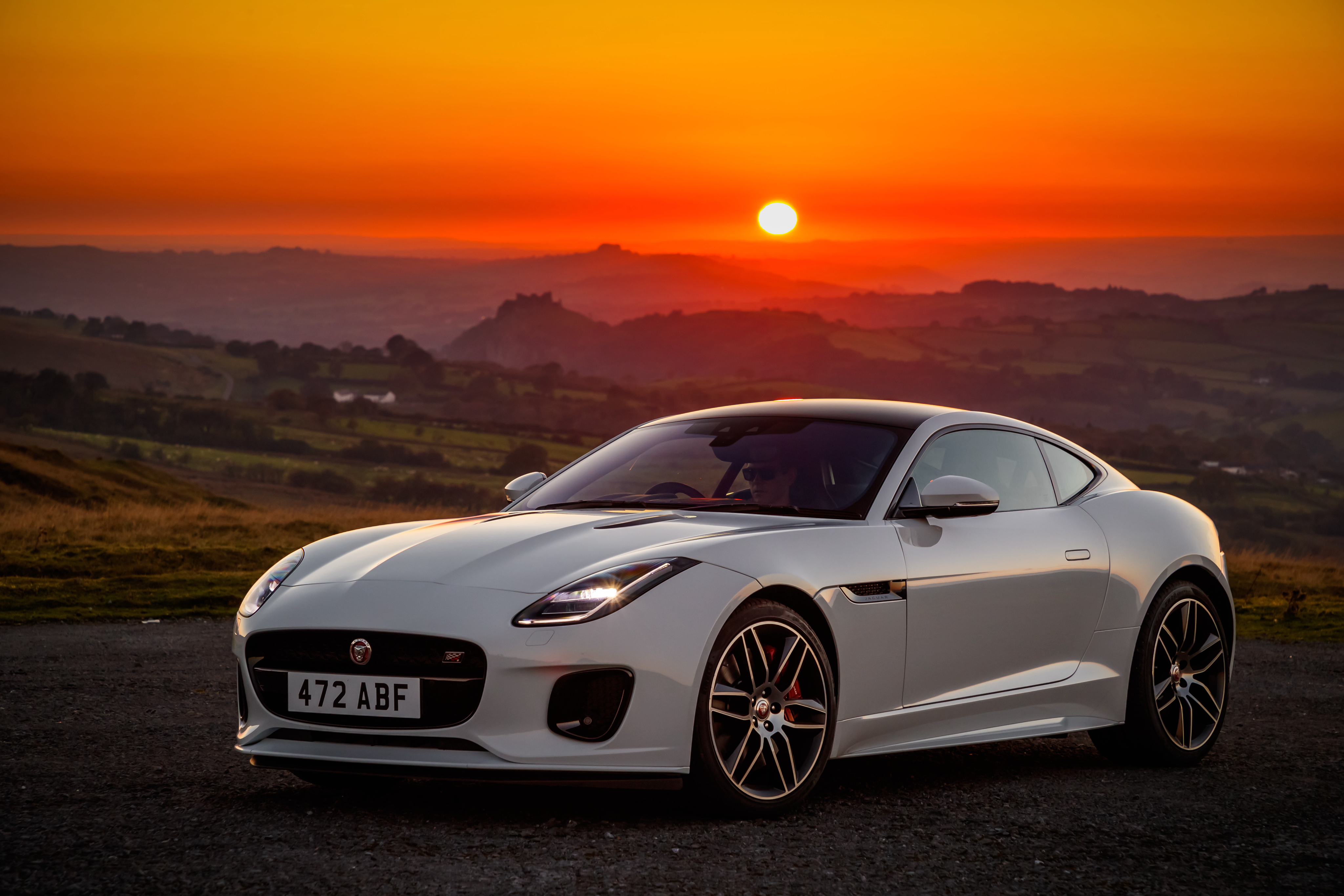 Jaguar F Type 4k Ultra Fondo De Pantalla Hd Fondo De