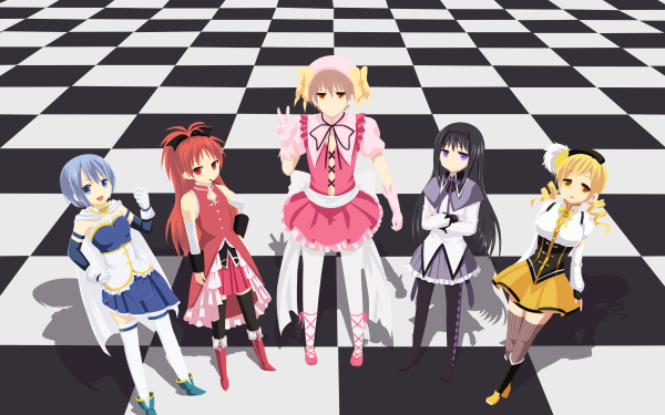 Anime Crossover Puella Magi Madoka Magica Is This a Zombie HD Wallpaper | Background Image