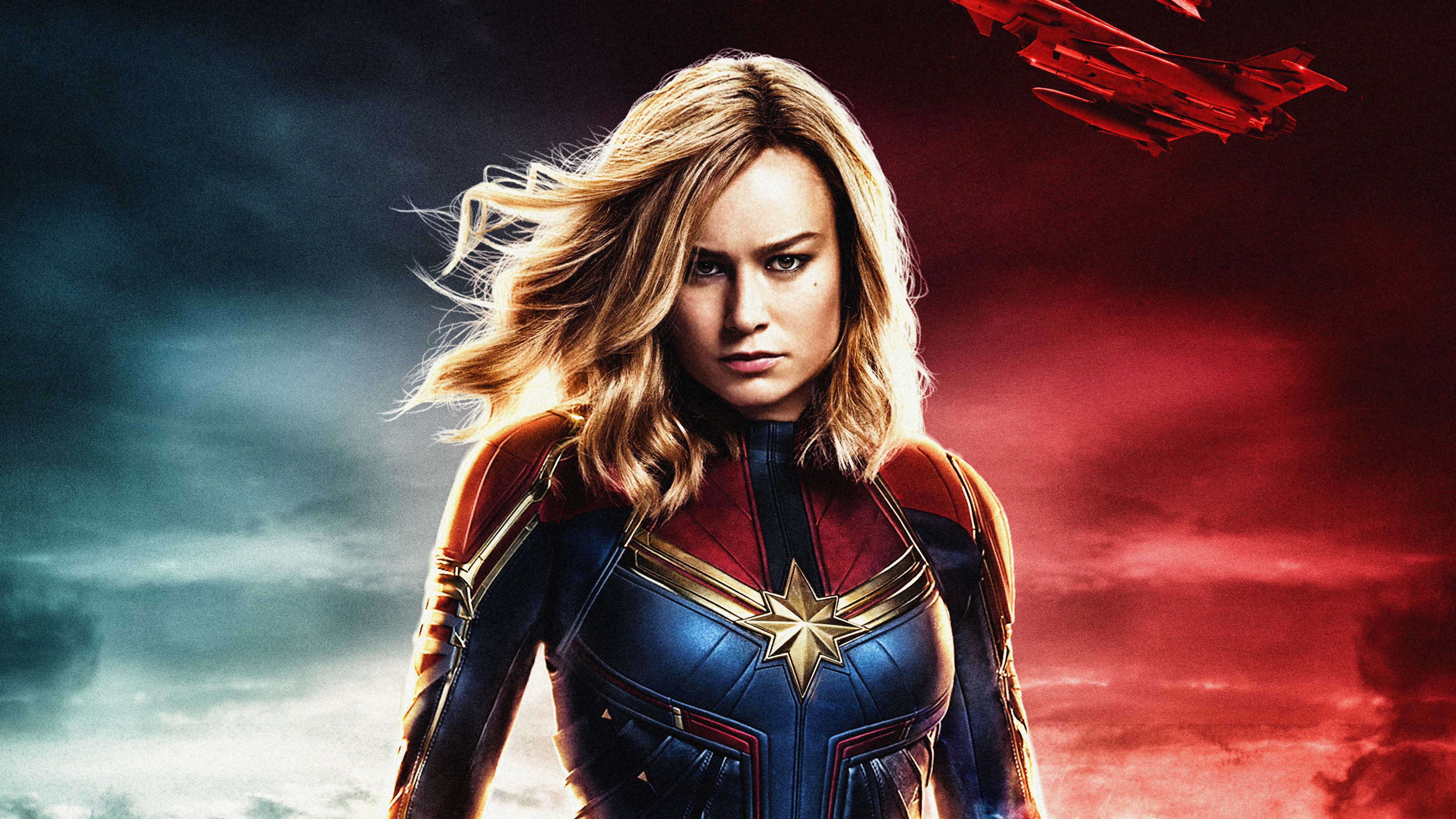 Captain Marvel 4k Ultra Hd Wallpaper Background Image