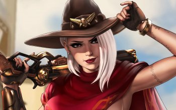 41 Ashe Overwatch Hd Wallpapers Background Images