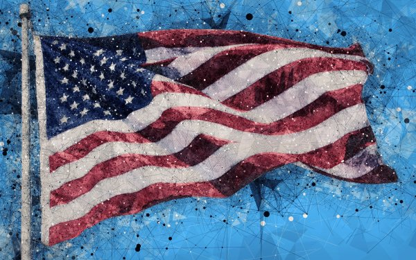 Man Made American Flag Flags Flag United States HD Wallpaper | Background Image