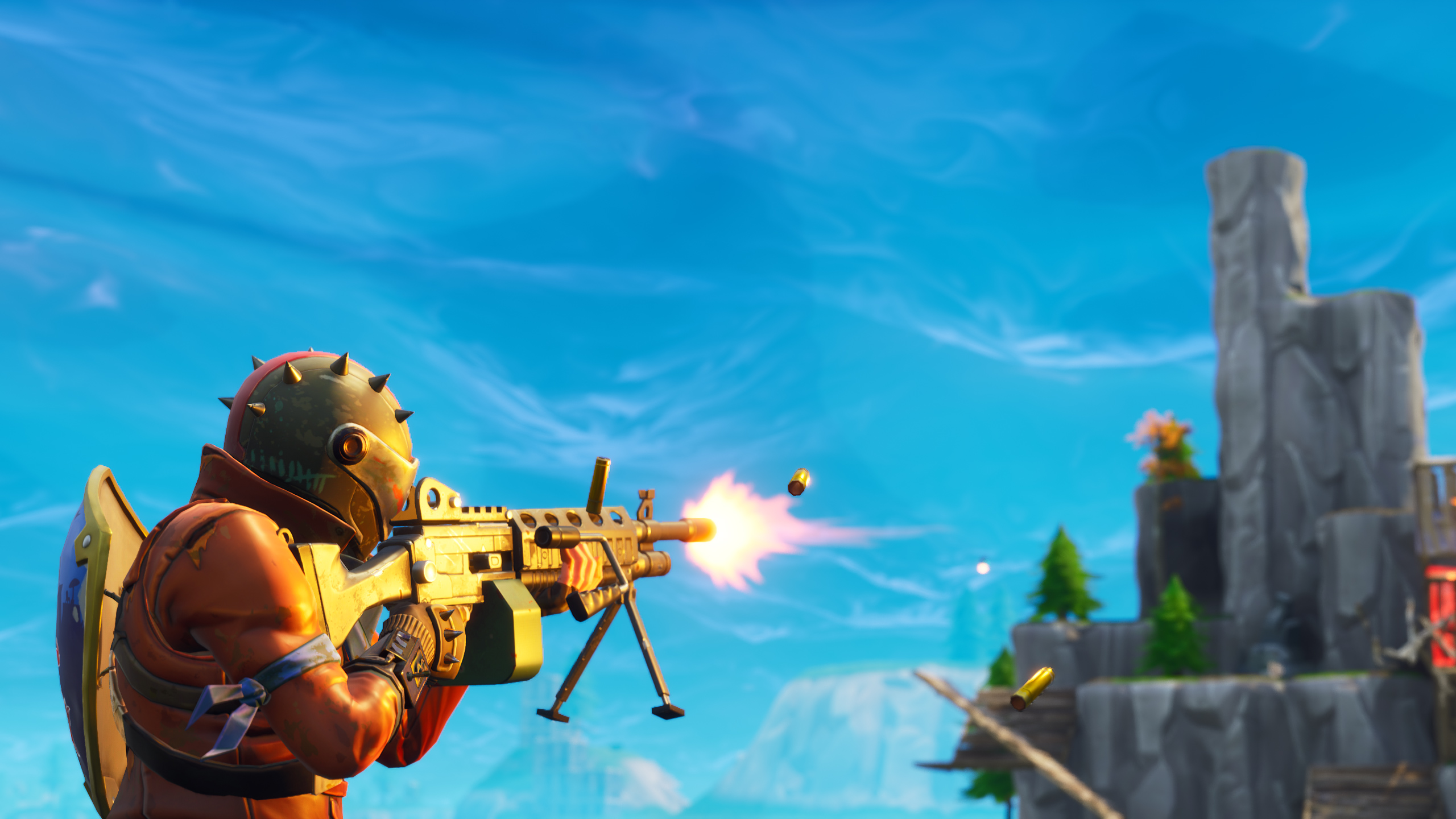 Fortnite Hd Wallpaper Background Image 2560x1440 Id