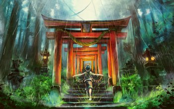 51 Shrine Hd Wallpapers Background Images Wallpaper Abyss