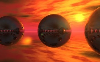 CGI - Sphere Wallpapers and Backgrounds ID : 97970