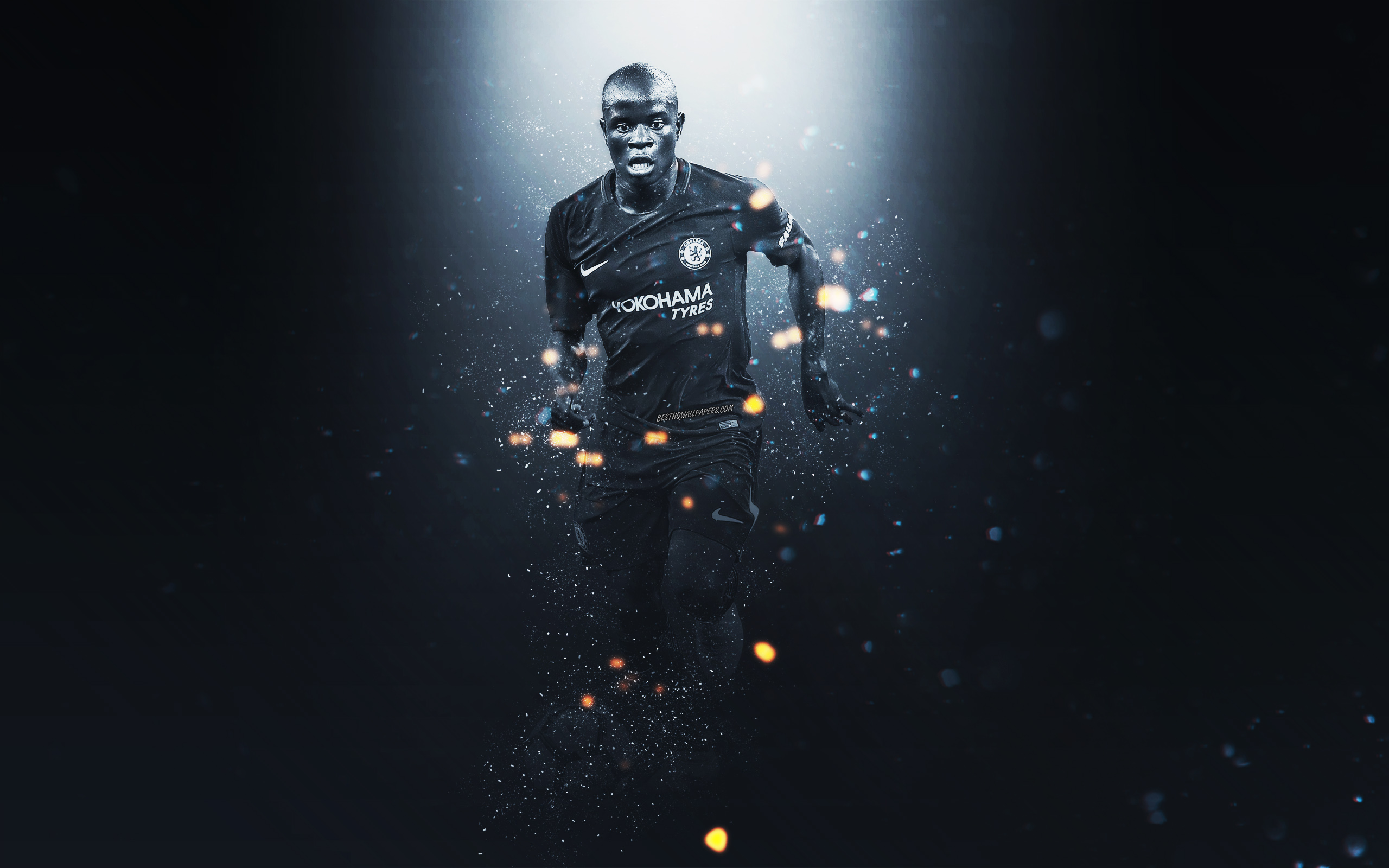 N'Golo Kanté HD Wallpaper