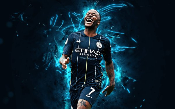 Sports Raheem Sterling Soccer Player Manchester City F.C. HD Wallpaper | Background Image