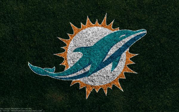 Sports Miami Dolphins Football Logo Emblem NFL HD Wallpaper | Background Image