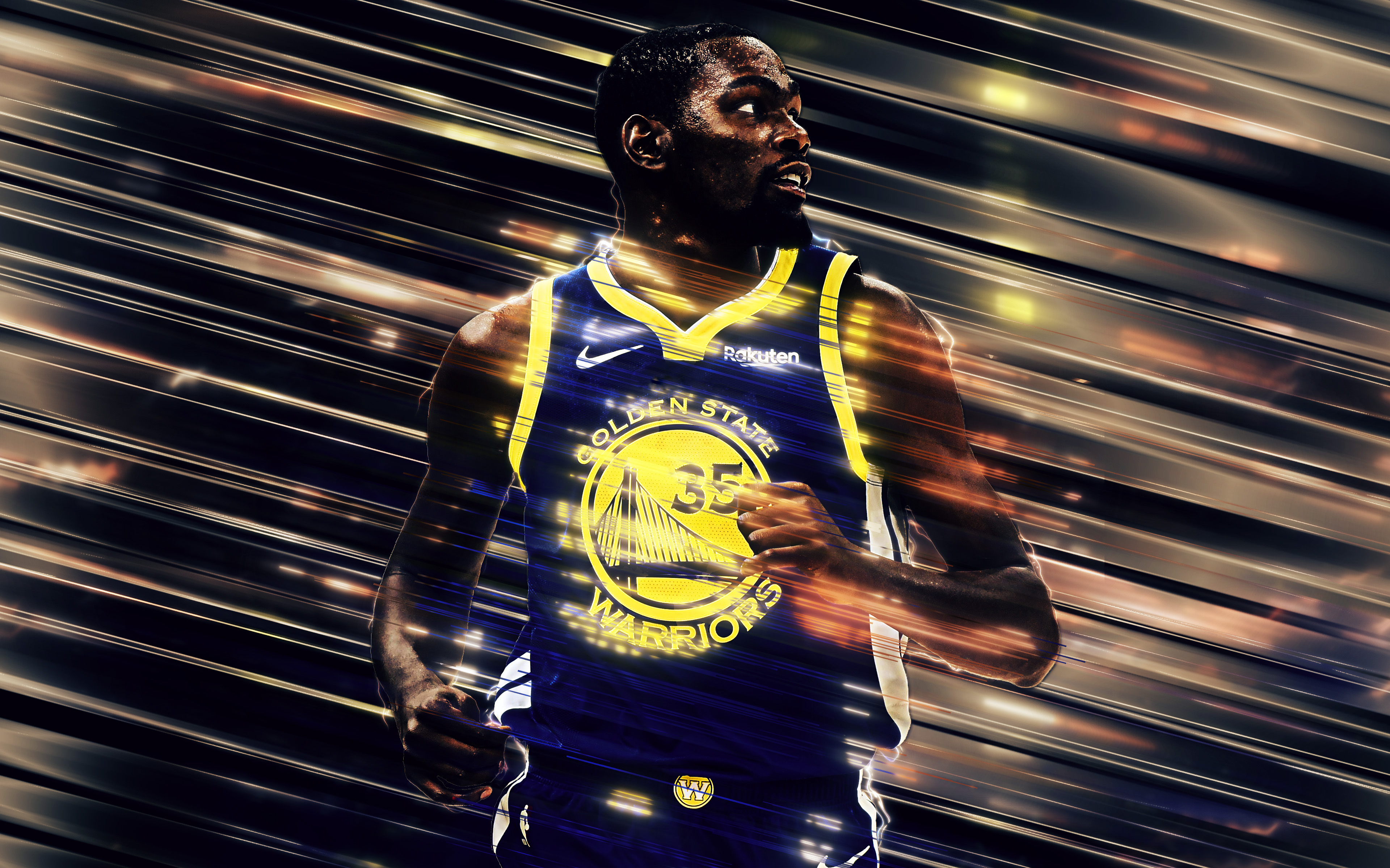 Kevin Durant 4k Ultra Hd Wallpaper Background Image 3840x2400