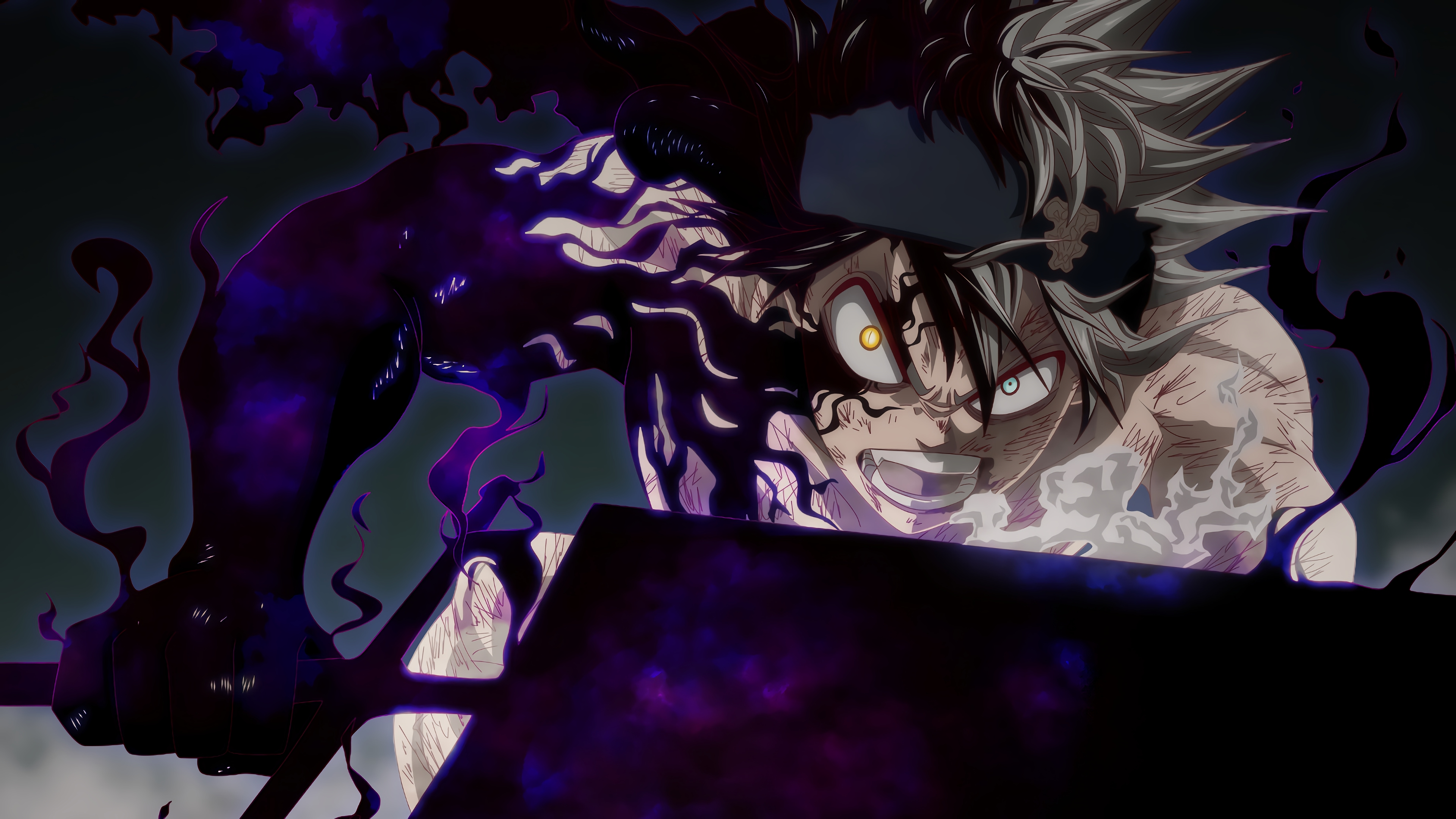 Asta Demonic Form 4k Ultra Hd Wallpaper Background Image 3840x2160 Id 983332 Wallpaper Abyss The reckless magic fight ch.142 : asta demonic form 4k ultra hd wallpaper