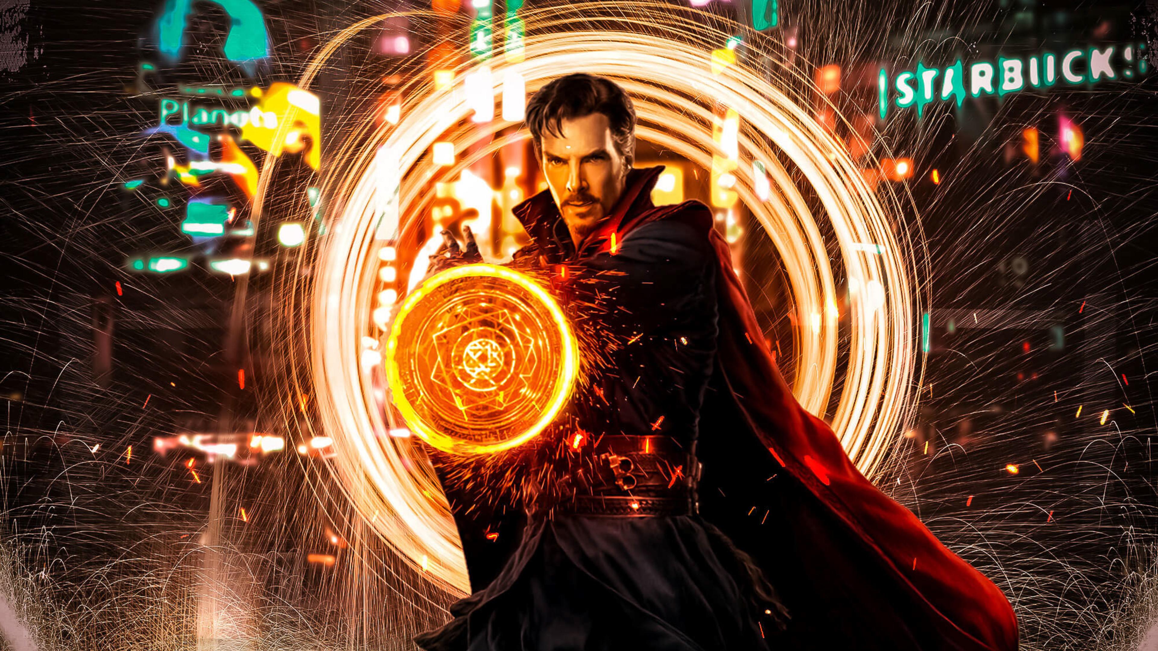Doctor Strange 4k Ultra Fondo De Pantalla Hd Fondo De