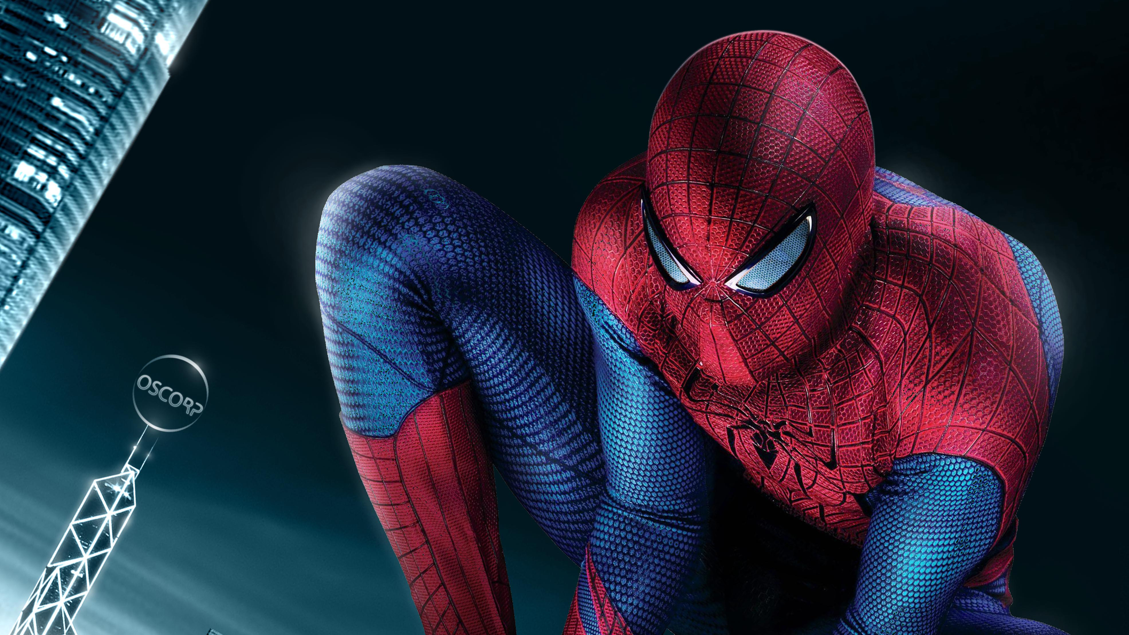 The Amazing Spider Man 4k Ultra Hd Wallpaper Background Image