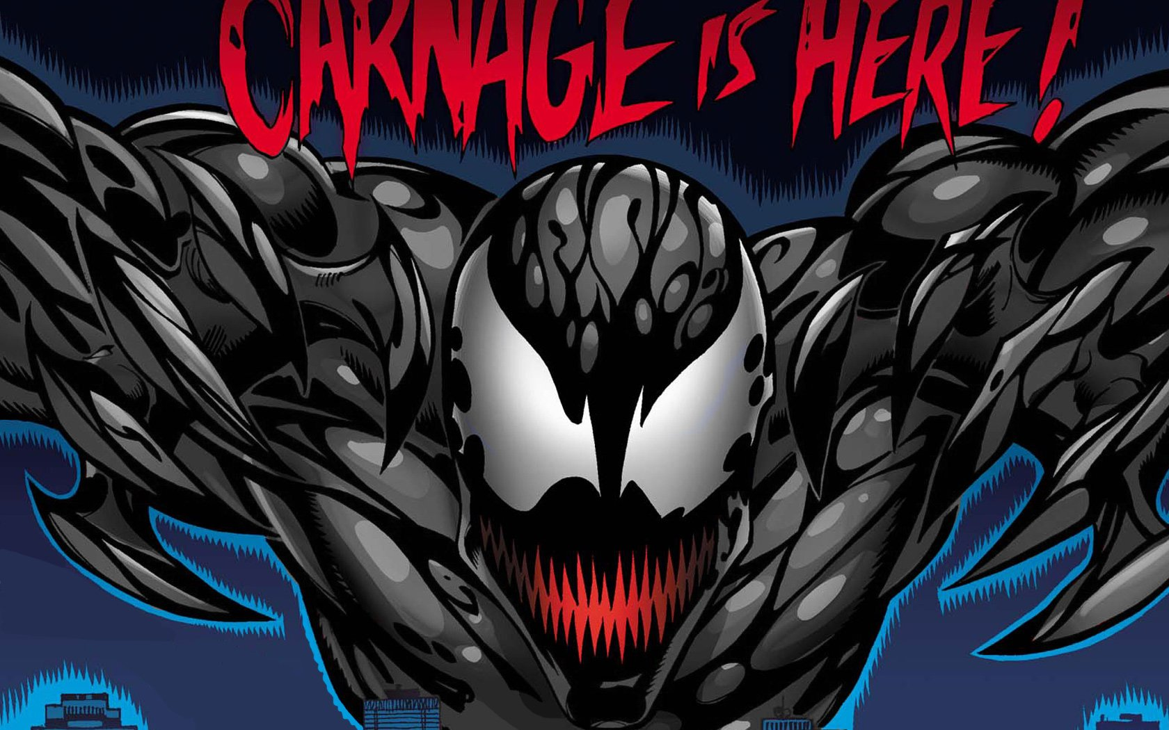carnage wallpaper and background 1680x1050 id9860