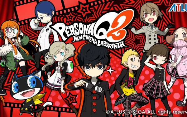 Video Game Persona Q 2 Persona HD Wallpaper | Background Image