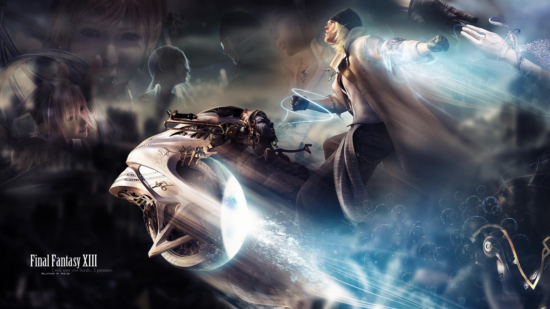 Final Fantasy Xv Logo Uhd 4k Wallpaper: Final Fantasy XIII Fond D'écran HD