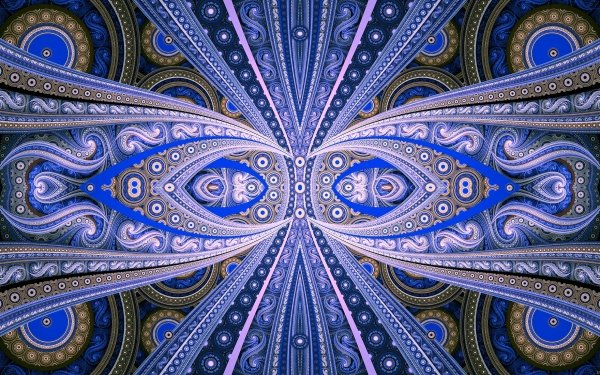 Abstract Fractal HD Wallpaper   Background Image