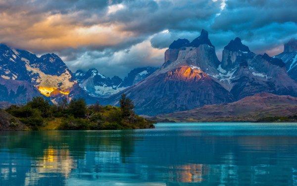 Tierra/Naturaleza Montaña Montañas Lago Nube Fondo de pantalla HD | Fondo de Escritorio