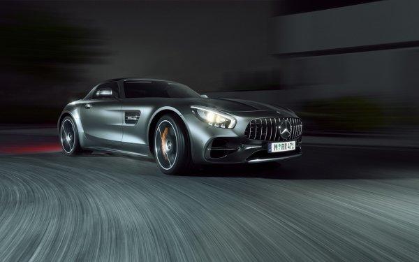 Vehicles Mercedes-Benz AMG GT Mercedes-Benz Mercedes-Benz AMG Car Silver Car Sport Car HD Wallpaper | Background Image