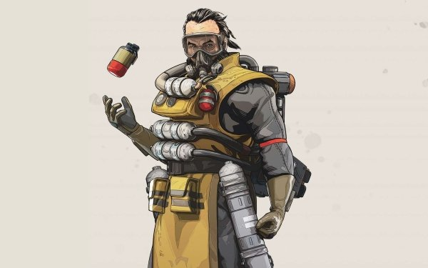 Video Game Apex Legends Caustic HD Wallpaper | Background Image