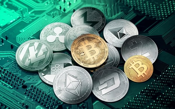 Technology Cryptocurrency Bitcoin Coin Money Litecoin Dash Zcash Ethereum Monero Ripple OmiseGO HD Wallpaper | Background Image
