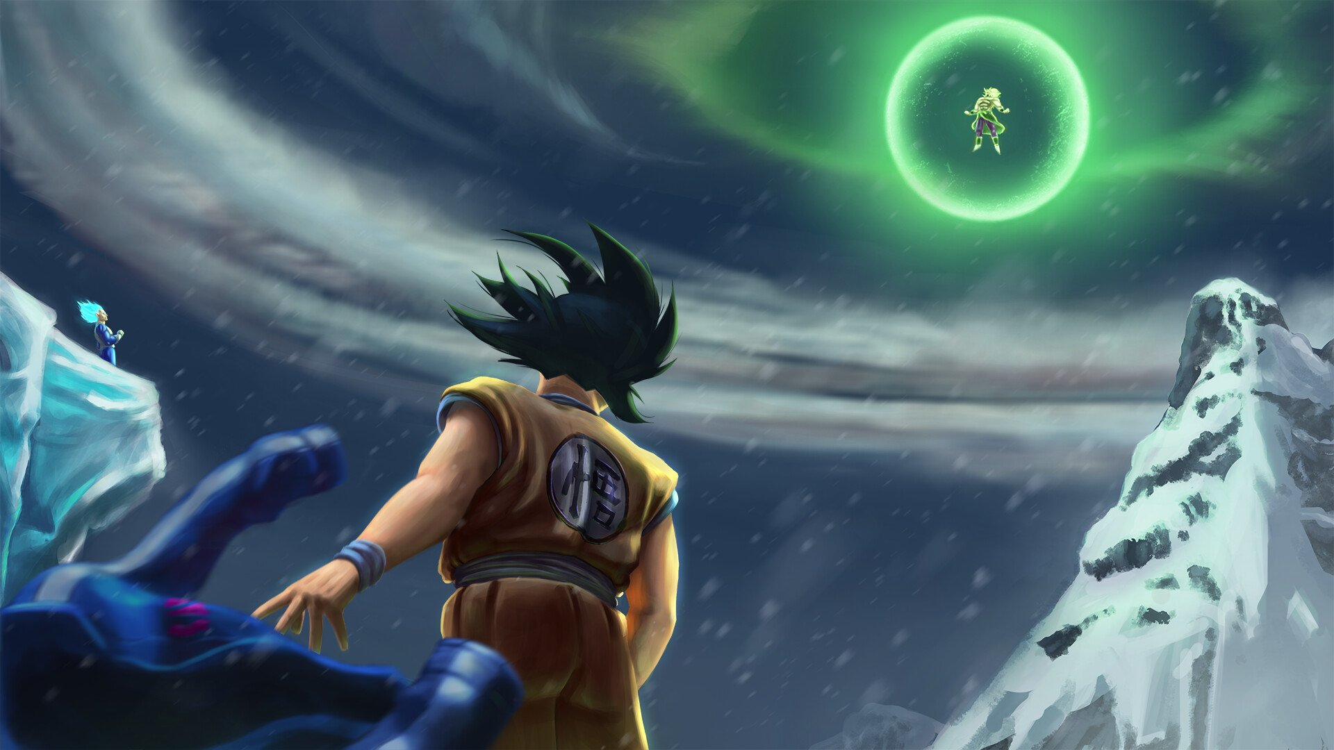 158 Dragon Ball Super Broly Hd Wallpapers Background Images