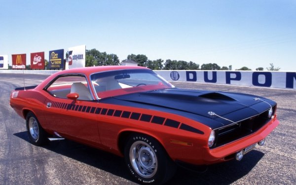 Vehicles Plymouth Barracuda Plymouth Muscle Car HD Wallpaper   Background Image
