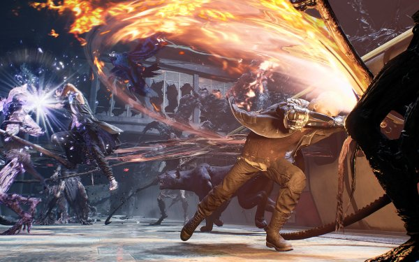 Video Game Devil May Cry 5 Devil May Cry Nero V HD Wallpaper | Background Image