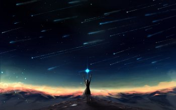 102 Shooting Star Hd Wallpapers Background Images