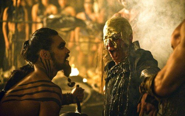 TV Show Game Of Thrones Viserys Targaryen Drogo Harry Lloyd Jason Momoa HD Wallpaper   Background Image