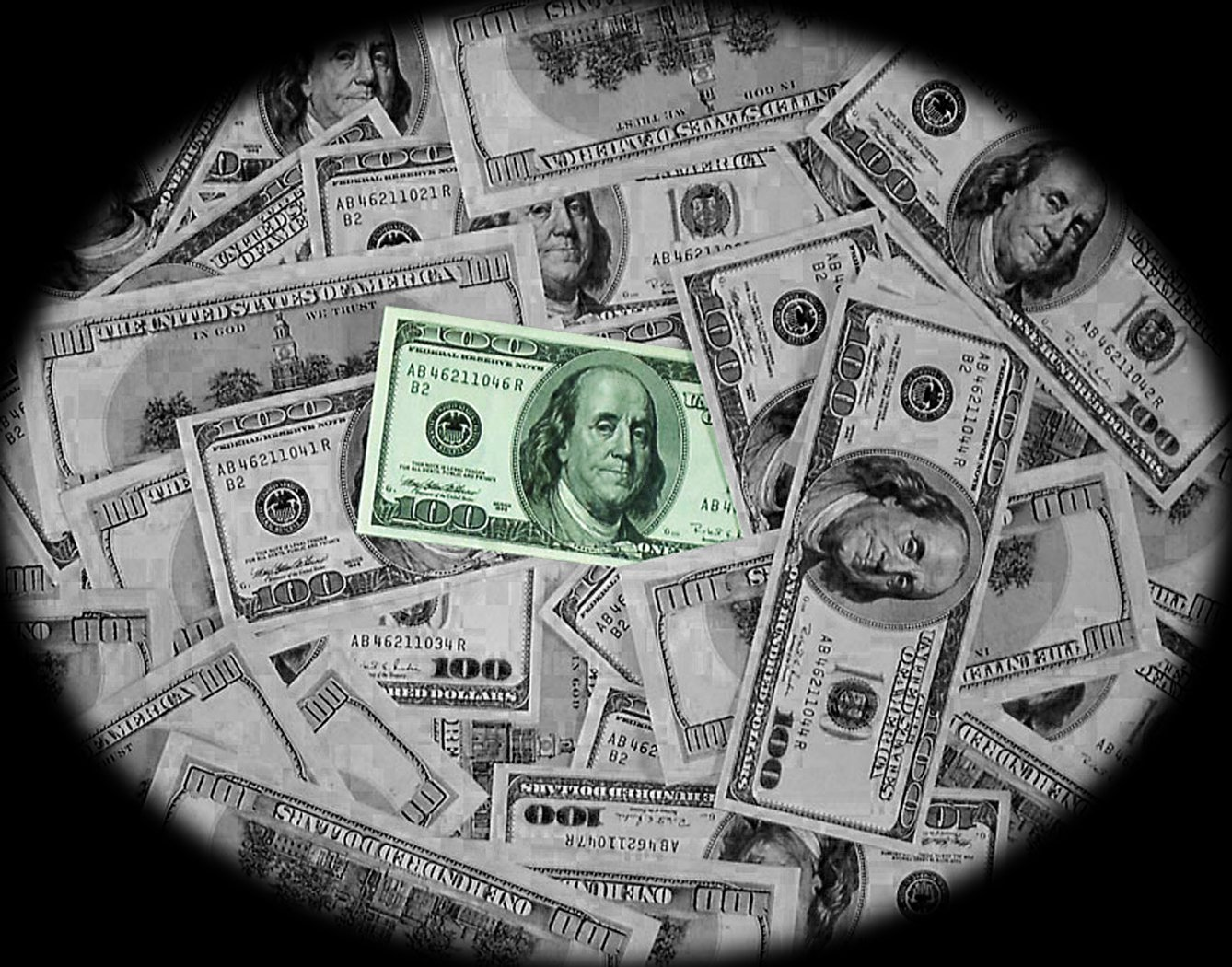 100 Dollar Bill Wallpaper And Background Image 1338x1050