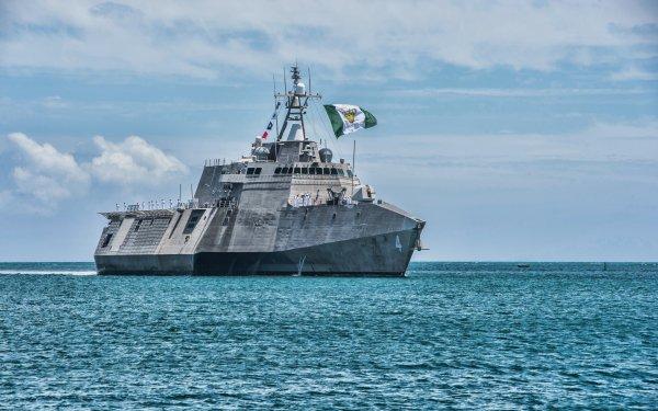 Military United States Navy Warships Warship USS Coronado Coastal Defence Ship HD Wallpaper | Background Image