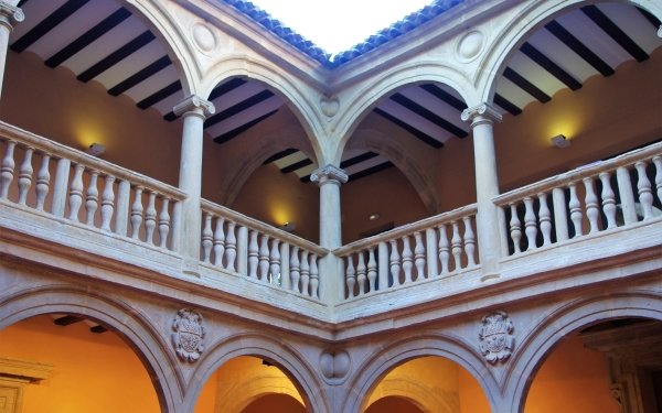 Man Made Palace Palaces Albacete Spain Architecture Castilla la Mancha HD Wallpaper | Background Image