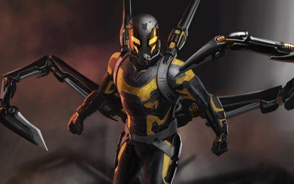 Film Ant-Man Yellowjacket Fond d'écran HD | Arrière-Plan