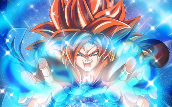 Anime Dragon Ball GT Dragon Ball Super Saiyan 4 Gogeta HD Wallpaper | Background Image