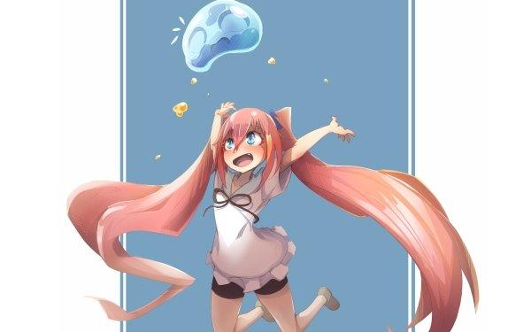 Anime That Time I Got Reincarnated as a Slime Milim Nava Rimuru Tempest Tensei shitara Slime Datta Ken HD Wallpaper   Background Image